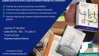 Invitación de la Konrad Adenauer Stiftung