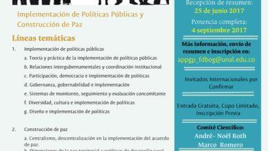 VIII Coloquio sobre Políticas Públicas