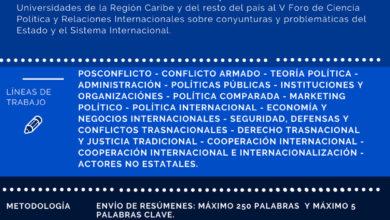 V Foro de Ciencia Política y Relaciones Internacionales